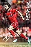 Close Up Mohamed Salah Poster Liverpool Saison 2018/2019