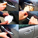 #6: 4pcs AutoTrends Universal Invisible Car Door Handle Scratches Protective Protector Films For 4X4 SUV Maruti Suzuki Vitara Brezza