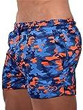 2eros Herren Desert Camo Swim Shorts Swimwear Multicolor