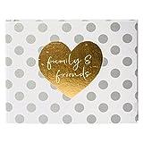 Goldbuch Foto-Gästebuch, You & Me Forever, Mit verdeckter Spiralbindung, 50 weiße Seiten, 29 x 23 cm, Leinenstruktur mit Prägung, Mehrfarbig, 47051