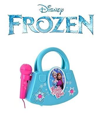 Aparato de karaoke Frozen (rosa) por Disney Frozen