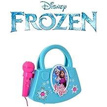 Aparato de karaoke Frozen (rosa)