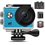 YDI 4K Waterproof Sports Camera Underwater Action Camera WiFi 12MP Full HD 1080P