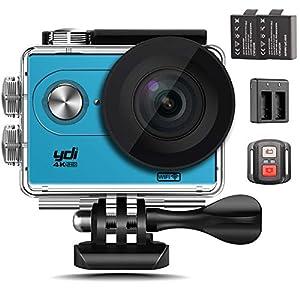 camaras de video pequeñas baratas: YDI H9R Cámara Deportiva Acuatica 4K Cámara de Acción Impermeable WiFi Ultra HD ...