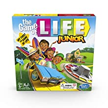 Hasbro Gaming The Game of Life Junior Board Game for Kids From Age 5, Game for 2 to 4 Players