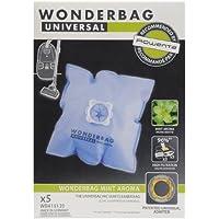 Wonderbag WB415120 Wonderbag Fresh Line - Bolsas para aspirador (5 piezas y 1 adaptador reutilizable)