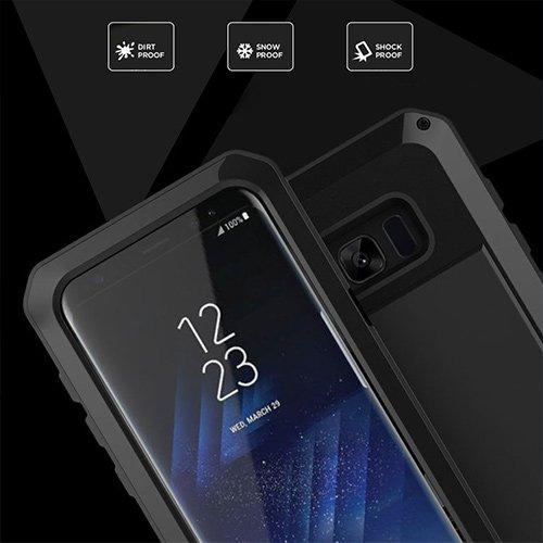 Aursen® Wasserdichte Schutzhülle Outdoor Waterproof Case Staubdicht Stoßfest hülle Schutzhülle für Samsung Galaxy S8