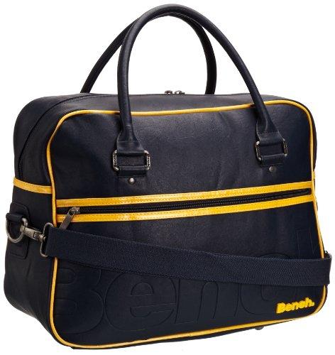 Bench Herren Tasche Bugells, dark denim, 42 x 32 x 21 cm, BMXA0722_NY002 (Denim Gefütterte Umhängetasche)