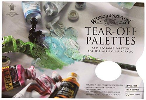 018 Abreisspalette Mischpalette, Abreißpalette für Ölfarben und Acrylfarben, 29 x 21 cm ()