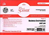 Scanner CS Foundation Programme (2017 Syllabus) Paper -1 Business Environment and Law