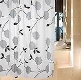 GZD PEVA tessuto della tenda doccia liscia e morbida facile da pulire muffa impermeabile semplici e dal design generoso , 180*240