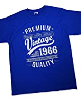 1966 Vintage Year - Aged To Perfection - 50 Ans Anniversaire T-Shirt pour Homme