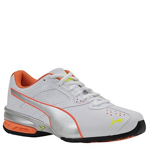 Puma Tazon 6 Ampio Formazione scarpe White-Orange