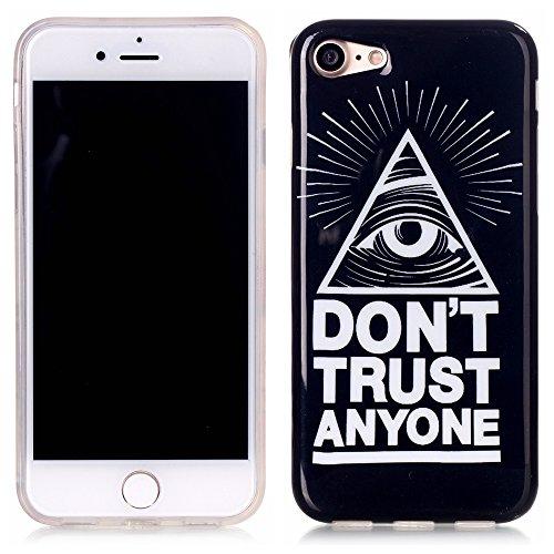 Meet de Slim de Protection Téléphone Case pour Apple iphone 7, Apple iphone 7 Bumper Case Coque,Apple iphone 7 Slim TPU Transparent Silicone Housse Etui pour Apple iphone 7 - X J