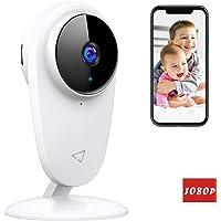 Victure 1080P Baby Monitor Telecamera WiFi Interno, Telecamera IP per Bambini e per Animali Domestici, Telecamera Interna con Visione Notturna e rilevazione di movimento con Audio Bidirezionale