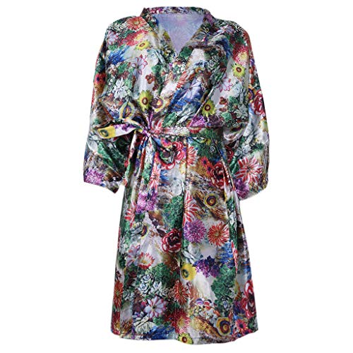 Fogun Salon Client Gown Hair Dressing Gowns Kimono