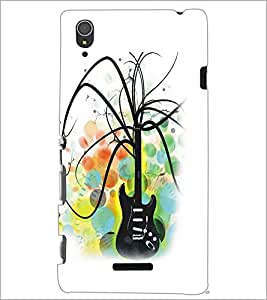 SONY XPERIA T3 GUITAR Designer Back Cover Case By PRINTSWAG
