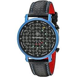 DETOMASO Herren-Armbanduhr Timeline Digital Quarz DT1067-B