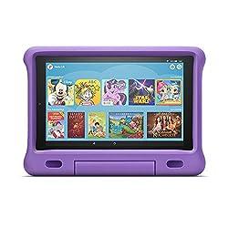Das neue Fire HD 10 Kids Edition-Tablet | 10,1 Zoll, 1080p Full HD-Display, 32 GB, violette kindgerechte Hülle