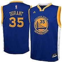 adidas Kevin Durant Golden State Warriors Azul Juventud réplica Jersey 85c593bba02
