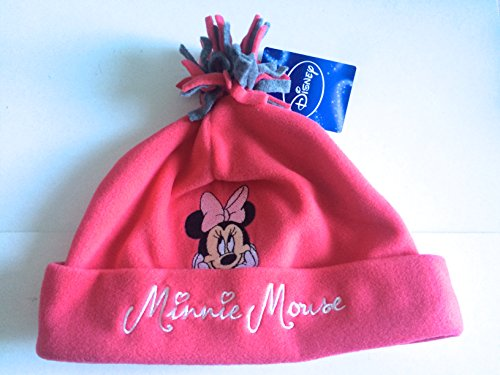 ref5b80-lic-228-mutze-fleece-minnie-kinder-rosa-fuchsia-grau-lizenz-offizielle-minnie-mouse-disney-g