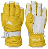 Trespass Simms, Gold, 5/7, Warm Padded Waterproof Gloves Kids Unisex, Age 5-7, Yellow