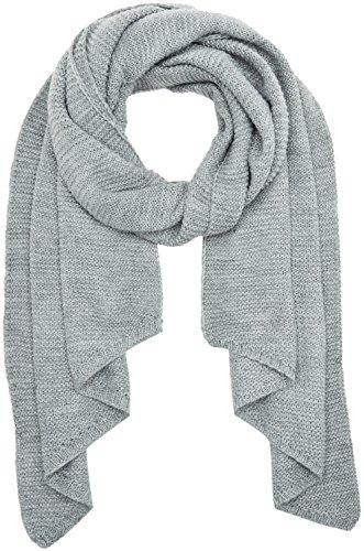 VERO MODA Damen Schal Vmmisty Long Scarf, Grau (Light Grey Melange), One Size