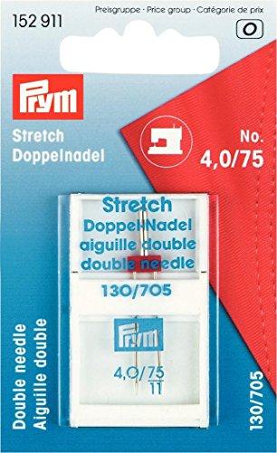 Prym 152911 Doppel-Maschinennadel Stretch 75/4.0 Test