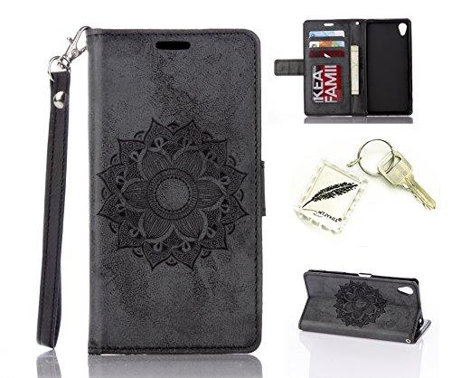 Preisvergleich Produktbild Silikonsoftshell PU Hülle für Sony Xperia X (5 Zoll (12,7 cm) Tasche Schutz Hülle Case Cover Etui Strass Schutz schutzhülle Bumper Schale Silicone case+Exquisite key chain X1) #AU (2)