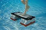 Sport-Thieme Aqua-Stepper | Steppbrett + Zusatzgewichte u. Gummistopfen | Für Aqua-Fitness u....