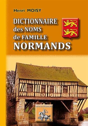 Dictionnaire des noms de famille normands