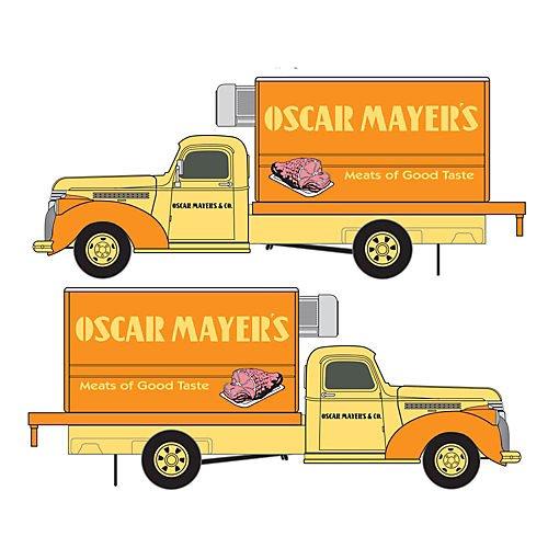 classic-metal-works-221-30350-ho-1941-1946-chevrolet-reefer-truck-assembled-mini-metalsr-oscar-mayer