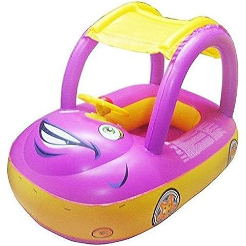 La seguridad del coche de la sombrilla inflable infantil del flotador del asiento nadada del barco agua de la