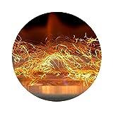 Glüheneffekt GLOW FLAME Dekoration Biokamin Kratki