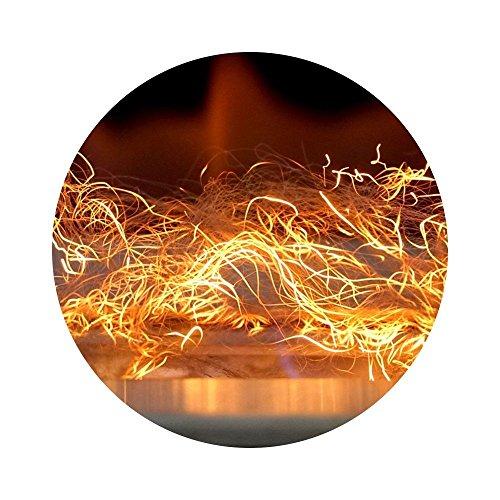 ... Glüheneffekt GLOW FLAME Dekoration Biokamin Kratki ...