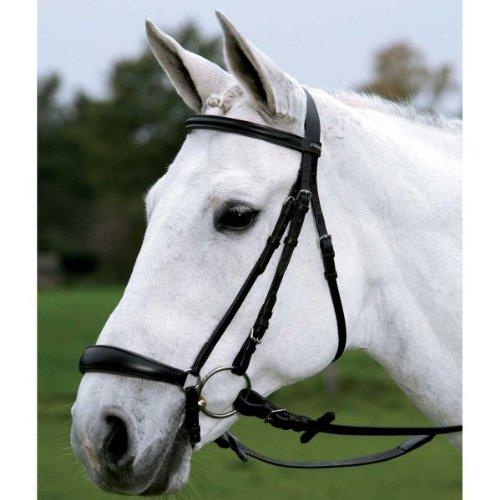 WALDHAUSEN STAR Trensenzaum Hannover, Pony, schwarz