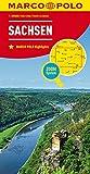 MARCO POLO Karte Deutschland Blatt 9 Sachsen 1:200 000: Wegenkaart 1:200 000 (MARCO POLO Karten 1:200.000)