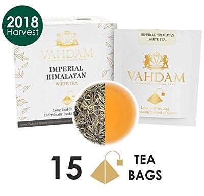 Thé blanc impérial de l'Himalaya 15 sachets de thé (PACK DE 2)