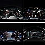 Ocamo 12pcs White Car Dome Map Lectura LED luz Interior para Audi A3 8P S3 2006-2011 Canbus