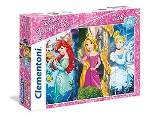 Clementoni - Maxi Puzzle de 60 Piezas Princess (26416)