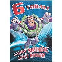 Hallmark Toy Story 6th Birthday Card 'Space Ranger' - Medium