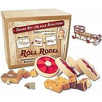 Roll Rodel Bausatz - Tuning Set für alle Holzschlitten / Räder für Schlitten / Kinderfahrzeug