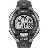 Timex -T5E901SU - IRONMAN Running 30 LAP - Montre Sport Homme - Quartz digitale - Bracelet en résine noir