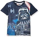 Lego Wear Jungen T-Shirt Lego Boy Star Wars M-72367-T-SHIRT S/S, Blau (Dunkles Marineblau), 7 Jahre