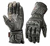 ISLERO Professional Leather Motorbike Motorcycle Gloves...