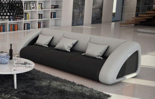 Sam Sofa Garnitur Ciao Combi 3 2 1 Schwarz Weiß Weiß Designed By