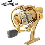 sypure (TM) 8BB Rodamientos de bolas Spinning carrete izquierda/derecha intercambiable plegable Carrete de pesca 5.1: 1Pesca de Carpa alimentador rueda st2000a