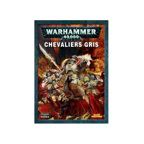 Codex chevaliers gris Warhammer 40000