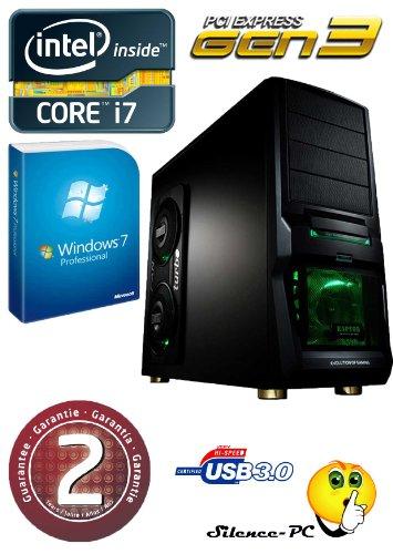 PC, AMD Athlon X4880K 4x 4,00GHz, GeForce GTX 1050Ti 4GB, 8GB RAM, 1TB HDD, Windows 10Pro, Card Reader, EAN: 4260219652261 GTX 580, WIN7 Professional ()