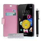 zStarLn® rosa Hülle Leder Tasche für LG K5 Hülle